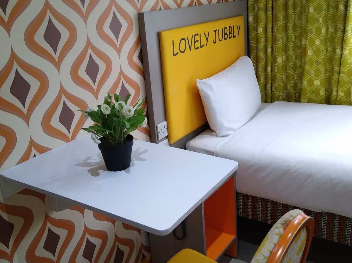 London Peckham bedroom